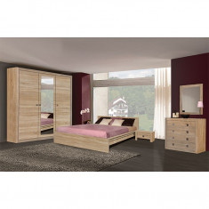 Mobila dormitor TARA sonoma - Dormitor complet