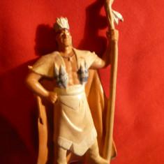 Figurina Saman Indian, plastic, color, h= 9 cm