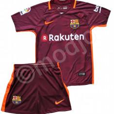 Compleu Echipament FOTBAL FC Barcelona MESSI NOUL MODEL 2018 pt. copii 4-14 ANI - Set echipament fotbal Nike, Marime: YXXL, YXL, YL, YM, YS, YXS