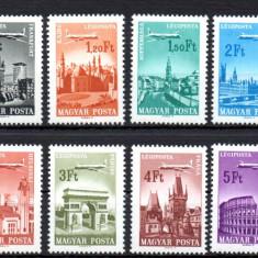 UNGARIA 1966, Aviatie, MNH, serie neuzata - Timbre straine, An: 1967, Nestampilat