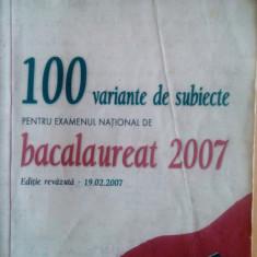 Limba și Literatura Română. Examenul de Bacalaureat. - Teste Bacalaureat art