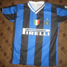 Tricou al Echipei Fotbal Internationale Milano, Jucator nr.18 Crespo, masura M - Tricou echipa fotbal, Marime: M, Culoare: Albastru