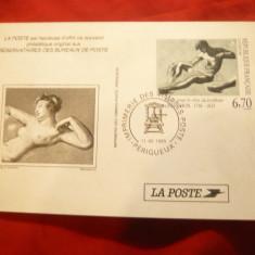 Carte Postala - Filatelie - Pictura - Nud -Franta