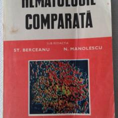 ST. BERCEANU, N. MANOLESCU: HEMATOLOGIE COMPARATA