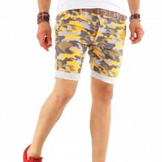 Pantaloni scurti + CUREA MARO CADOU - SUMMER EDITION - 8543 X5-4 - Bermude barbati, Marime: 30, 31, 32, 33, 34, 36, Culoare: Din imagine