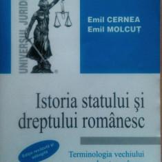 Istoria statului si dreptului romanesc. - Carte Istoria dreptului