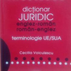Dictionar Juridic Englez- Roman, Roman- Englez. niculescu