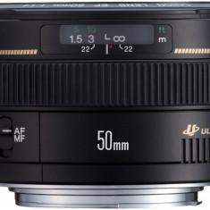 Obiectiv foto Canon EF 50 mm/ F1.4 USM - Obiectiv DSLR