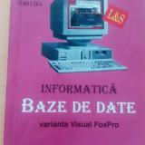 Informatică. Bază de date. - Carte Informatica