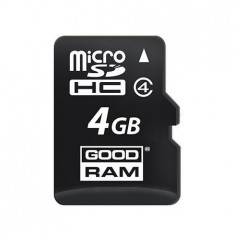 MICRO SD CARD 4GB FARA ADAPTOR GOODRAM - Card Micro SD