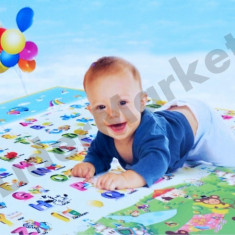 Covor de joaca copii interior exterior doua fete 120 x 180 cm - Jucarie interactiva