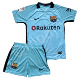 Compleu Echipament FOTBAL FC Barcelona MESSI NOUL MODEL 2018 pt. copii 4-14 ANI
