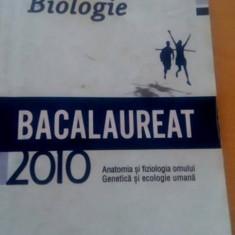 Biologie. Pregătire pentru Bacalaureat. - Teste Bacalaureat art