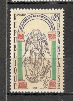 Franta. 1966 1000 ani Manastirea Mont St.Michel  KY.120 foto