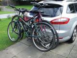 Suport  biciclete cu fixare pe carligul  masinii , lichidare stoc