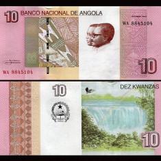 Angola 2012 (2017) - 10 kwanzas UNC - bancnota africa