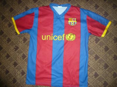 Tricou al Echipei Fotbal FC Barcelona ,Jucator nr.14 Henry ,masura M foto