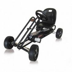 Go Kart Lightning - Titan Black - Kart cu pedale Hauck
