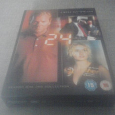 24 Season One - 24 ep - DVD [A] - Film serial, SF, Engleza