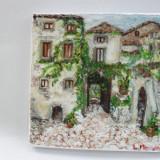 In oras 1-pictura ulei pe panza;MacedonLuiza - Pictor roman, Peisaje, Altul