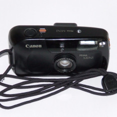Canon Prima Mini - Canon Lens 32mm F3.5 - Transport gratuit prin posta! - Aparat Foto cu Film Canon