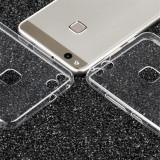 Husa ultra subtire Silicon cu protectie la camera pentru Huawei P10 lite, Alt model telefon Huawei, Transparent