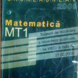 Matematică. Examenul de Bacalaureat.