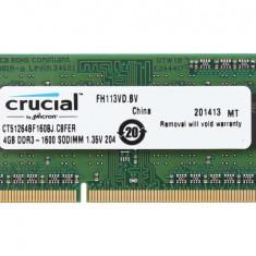 Ram laptop So-DIMM DDR3L PC3 12800/1600mhz 4GB /1.35V low V/ disponibil KIT 8GB - Memorie RAM laptop Samsung, Dual channel