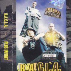 Caseta audio: R.A.C.L.A. – Plus infinit (2000 - in stare foarte buna) - Muzica Hip Hop, Casete audio