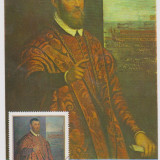ILUSTRATA MAXIMA-SCOALA ITALIANA-PORTRET DE SENATOR VENETIAN