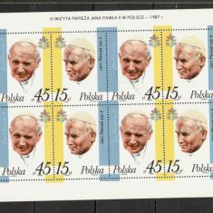 Polonia.1987 Vizita Papei Ioan Paul II SP.457 - Timbre straine, Nestampilat