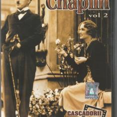 Film - Seria Cascadorii rasului - Charlie Chaplin Vol.2 !!! - Film Colectie, DVD, Altele
