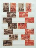 CERCETASI-LOT DE 45 VIGNETE CERCETASII ROMANIEI-1934