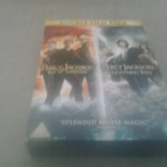 Percy Jackson - Sea of monsters + The lightning thief - DVD [A, B] - Film SF, Engleza