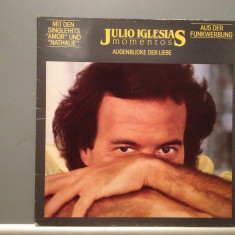 JULIO IGLESIAS - MOMENTOS (1982/CBS REC/HOLLAND) - Vinil/Analog 100%/ Vinyl - Muzica Pop Columbia