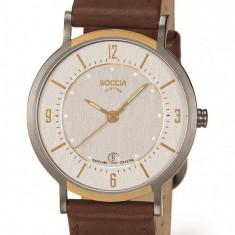 Ceas Boccia dama cod 3154-03 - pret 369 lei (marca germana; nou, original) - Ceas dama Boccia, Casual, Quartz, Titan, Piele, Data