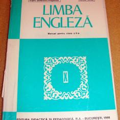 Limba Engleza / manual clasa a X a -1998 / Stefanescu - Draganesti / Voinea - Manual scolar Altele, Clasa 10, Limbi straine