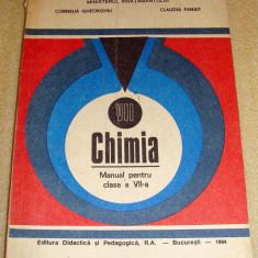 Chimie - manual clasa a VII a / 1994 - Gheorgiu / Panait - Manual scolar Altele, Clasa 7