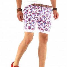 Pantaloni scurti tip ZARA + CUREA MARO CADOU - SUMMER EDITION - 8563 - Bermude barbati, Marime: 30, 31, 32, 33, 34, 36, Culoare: Din imagine