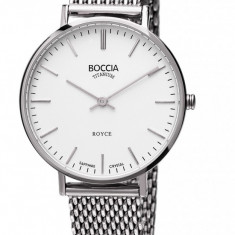 Ceas Boccia dama cod 3246-06 - pret 559 lei (marca germana; nou, original) - Ceas dama Boccia, Casual, Quartz, Titan, Otel, Analog