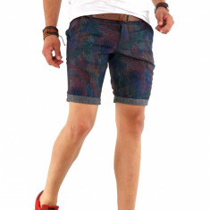 Pantaloni scurti + CUREA MARO CADOU - SUMMER EDITION - 8571 X7-4 - Bermude barbati, Marime: 30, 31, 32, 33, 36, Culoare: Din imagine