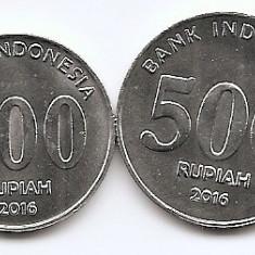 Indonesia Set 4 - 100, 200, 500, 1.000 Rupiah 2016 - KM-New UNC !!!, Asia