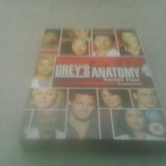Grey's Anatomy - Series Four Expanded - 17 Ep - DVD [B] - Film serial, Drama, Engleza