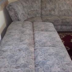 Canapea coltar si fotoliu stare buna putin folosita
