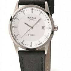 Ceas Boccia dama cod 3184-01 - pret 349 lei (marca germana; nou, original) - Ceas dama Boccia, Casual, Quartz, Titan, Piele, Data