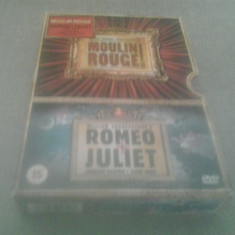Moulin Rouge / Romeo + Juliet - DVD [A] - Film romantice, Engleza