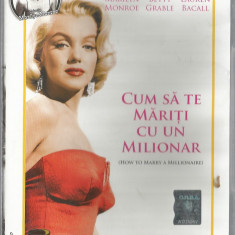 Film - Seria filme Dilema - Marilyn Monroe - Cum sa te mariti cu un milionar - Film Colectie, DVD, Altele