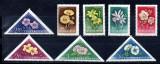 UNGARIA 1958, Flora, MNH, serie neuzata, Nestampilat