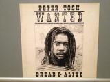 PETER TOSH - WANTED DREAD & ALIVE(1981/EMI /HOLLAND) - Vinil/Vinyl/Analog 100%