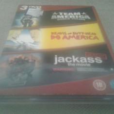 Team America / Beavis and Butt-Head / Jackass - DVD [A, ac] - Film comedie, Engleza